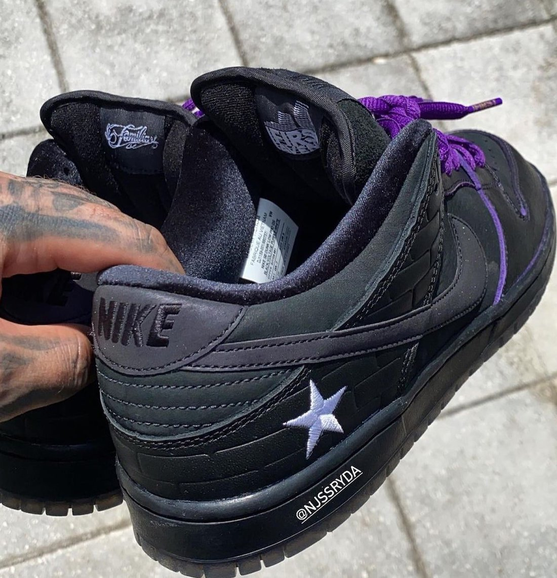 Familia Nike SB Dunk Low First Avenue Prince Release Date
