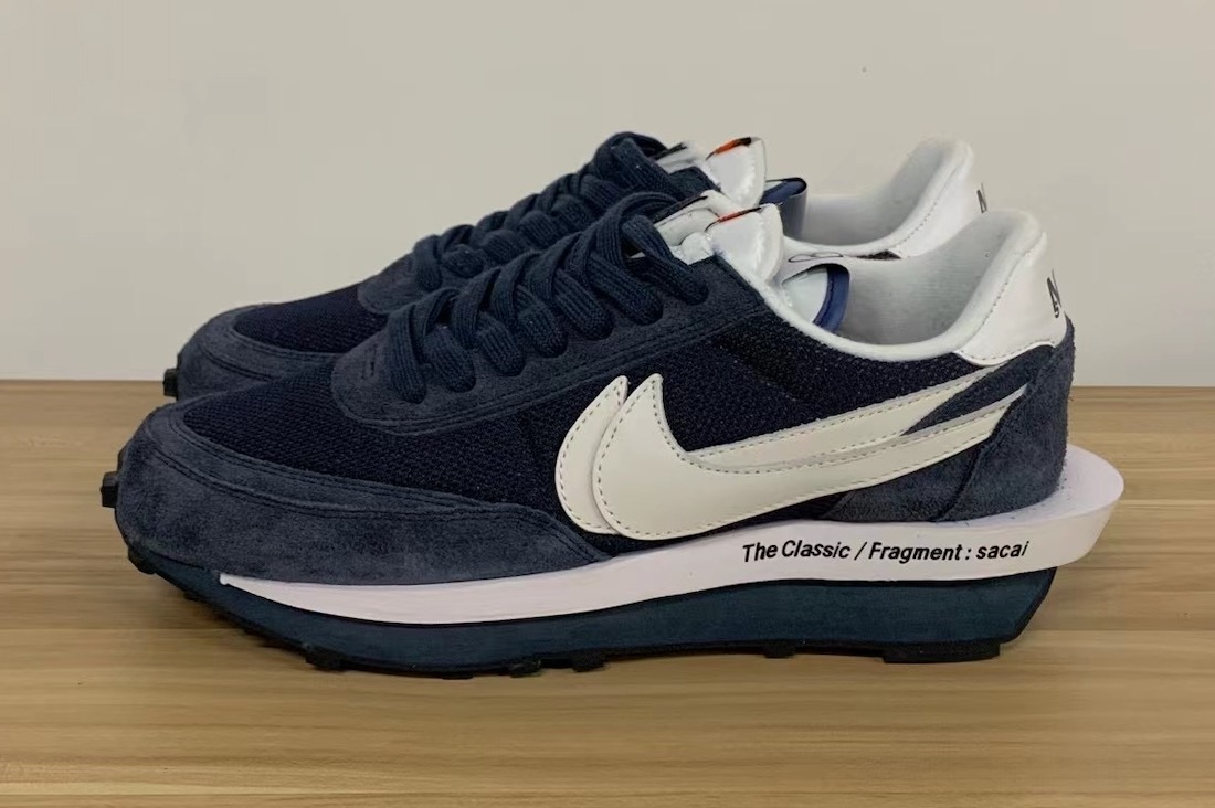Fragment Sacai Nike LDWaffle Blue Void DH2684-400 Release Date
