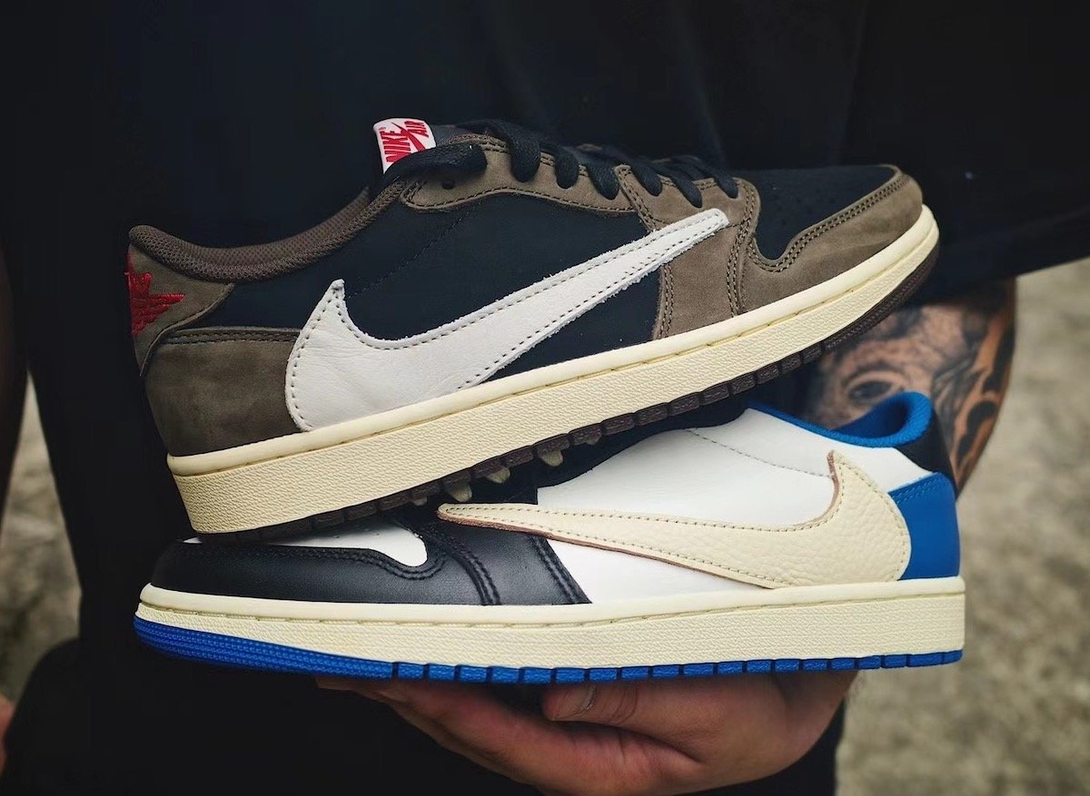 Fragment Travis Scott Air Jordan 1 Low OG DM7866-140 Release Date