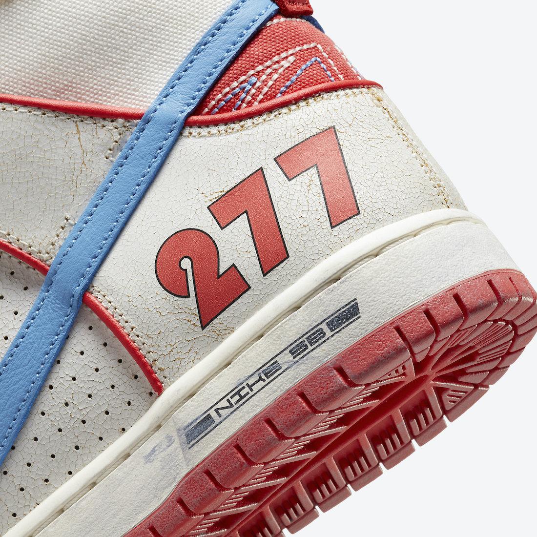 Ishod Wair Magnus Walker Nike SB Dunk High DH7683-100 Release Date