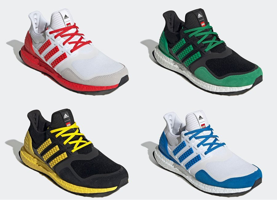 LEGO adidas Ultra Boost DNA Color Pack Release Date Info