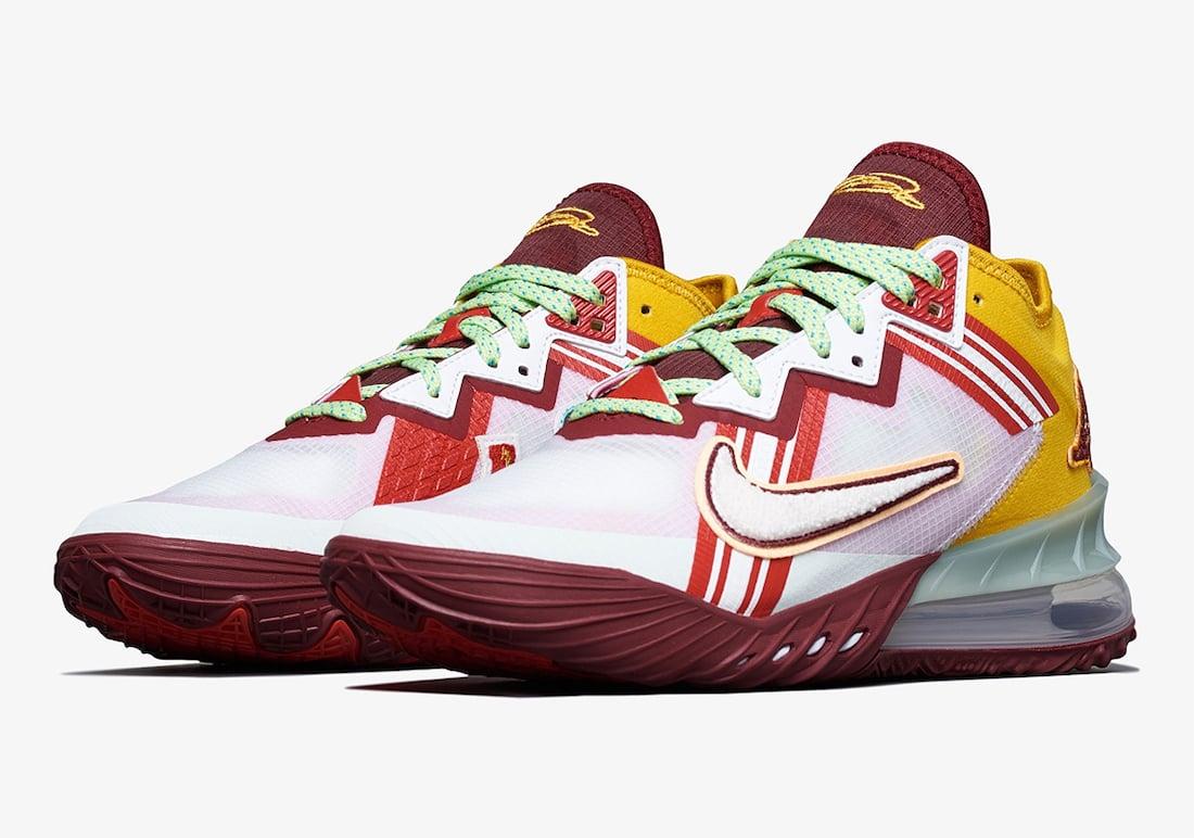 Mimi Plange Nike LeBron 18 Low CV7562-102 Release Date Info