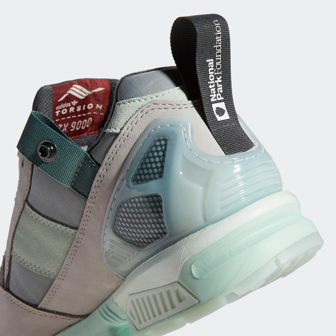 National Park Foundation adidas ZX 9000 Glacier FY5172 Release Date Info