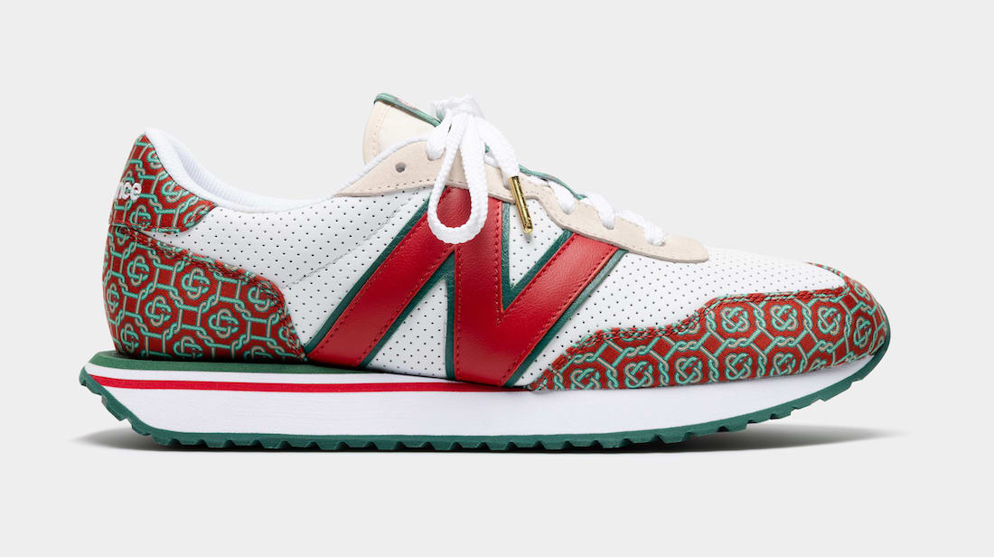New Balance 327 Red Monogram Release Date