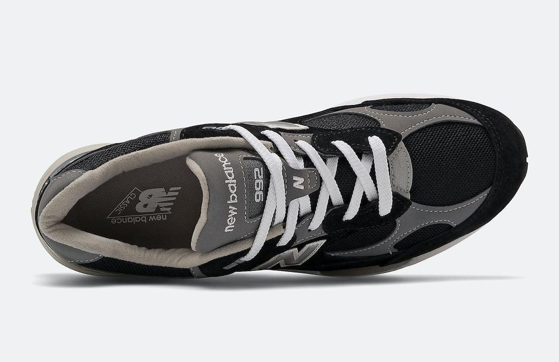 New Balance 992 Black Grey M992EB Release Date Info