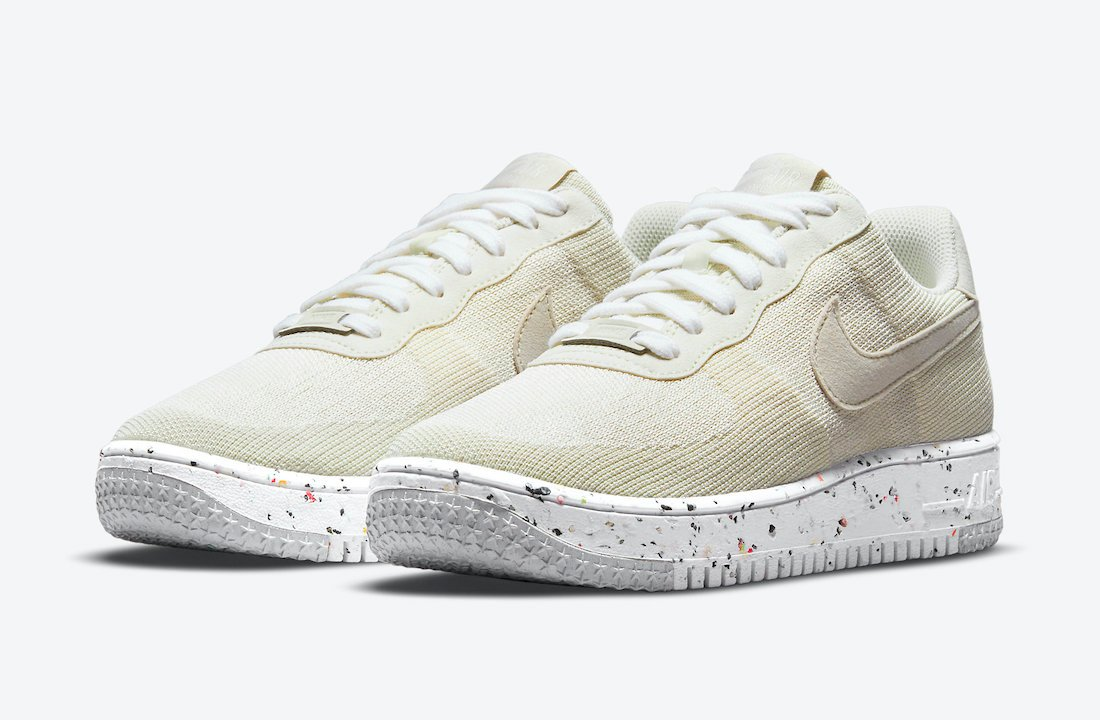 Nike Air Force 1 Crater Flyknit Sail DC7273-200 Release Date Info