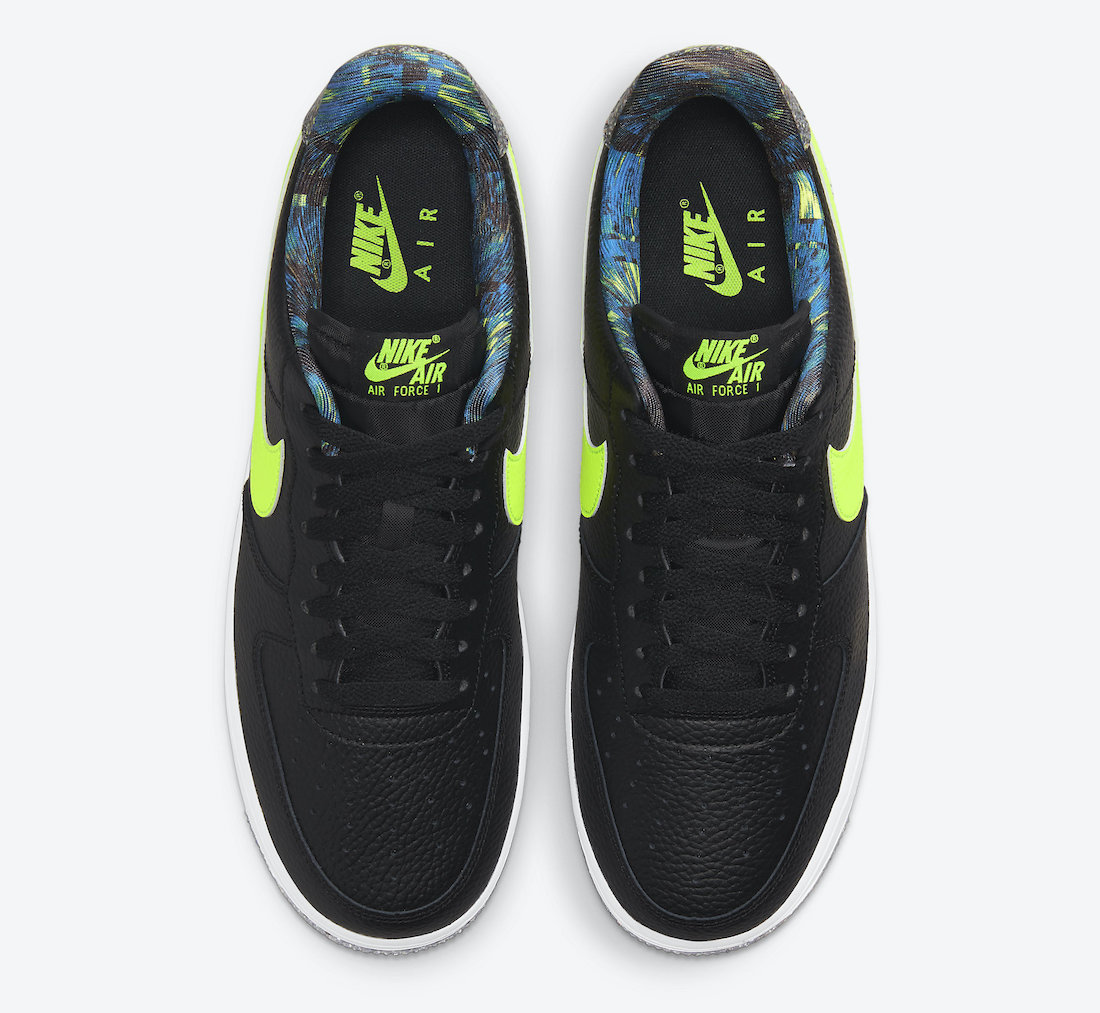 Nike Air Force 1 Low Black Volt DM9098-001 Release Date Info