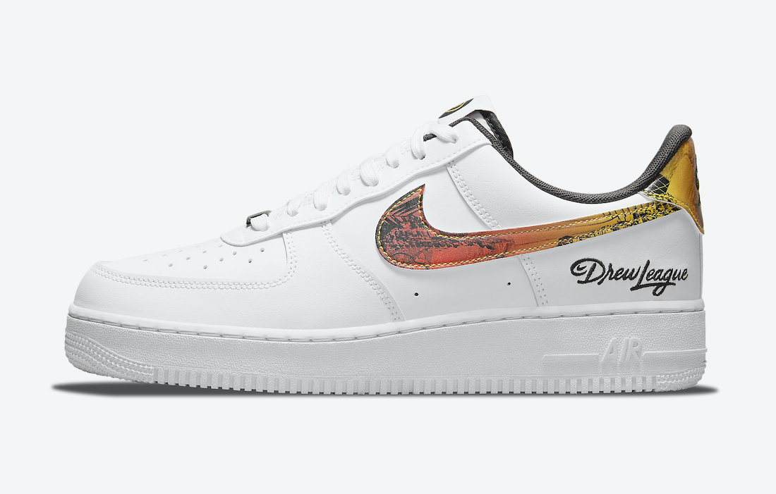 Nike Air Force 1 Low Drew League 2021 DM7578-100 Release Date Info