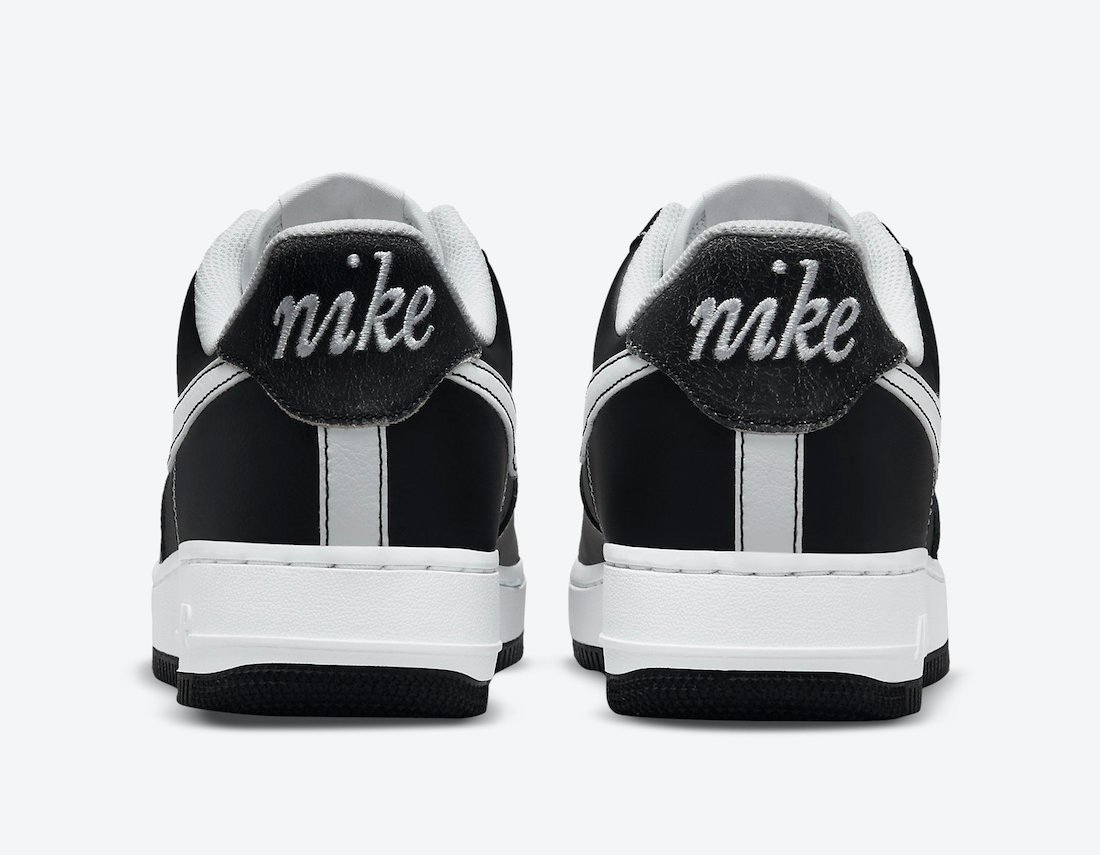 Nike Air Force 1 Low First Use Black White DA8478-001 Release Date Info