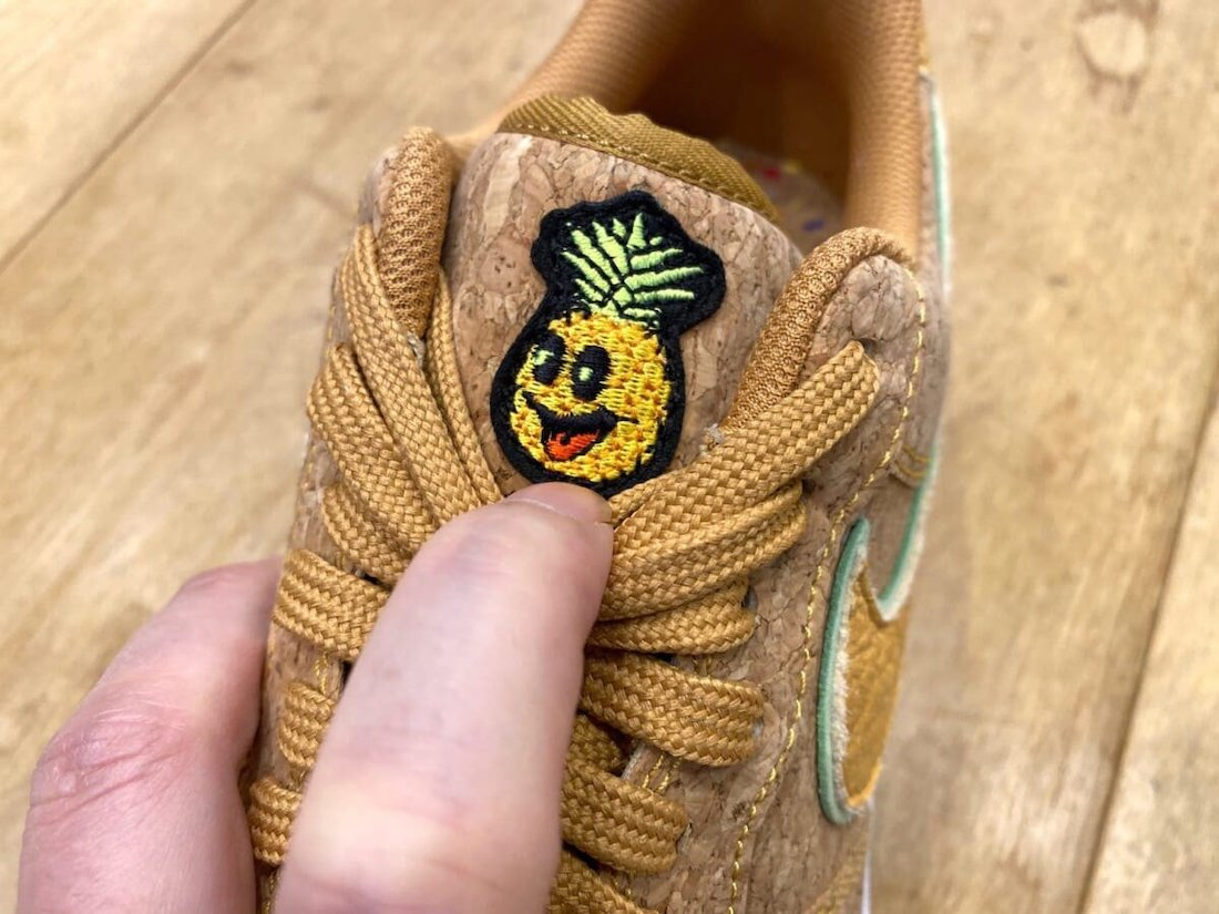Nike Air Force 1 Low Happy Pineapple Cork Release Date Info