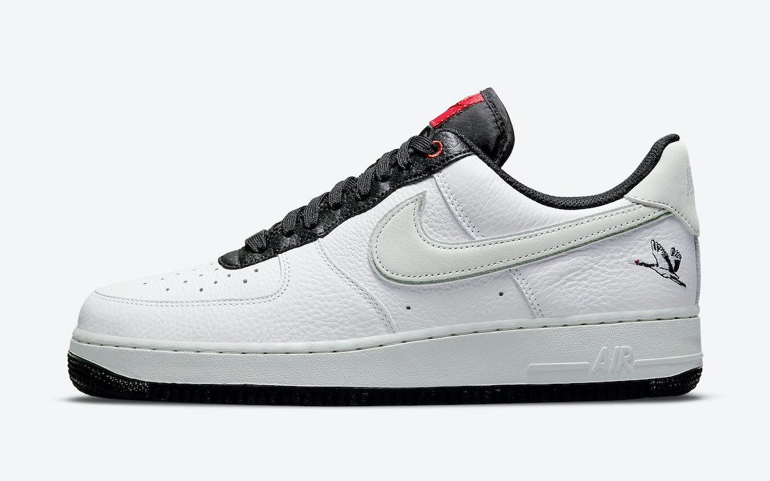 Nike Air Force 1 Low Milky Stork DA8482-100 Release Date Info