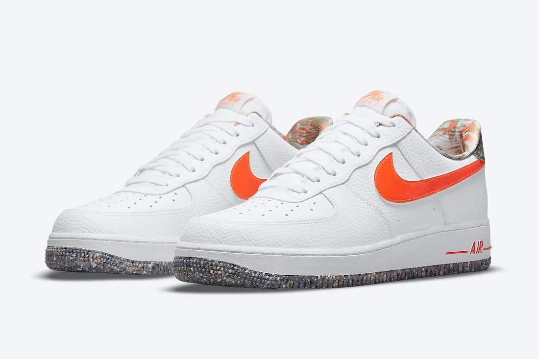 Nike Air Force 1 Low White Orange DM9098-100 Release Date Info