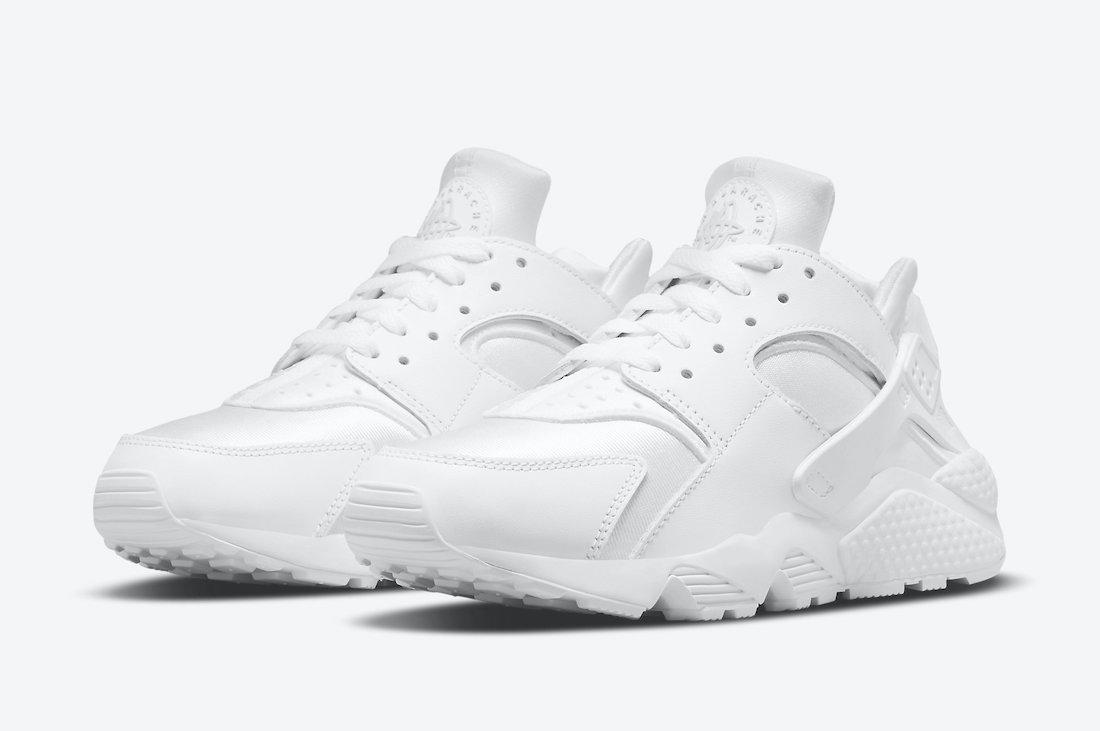 Nike Air Huarache Triple White DH4439-102 Release Date Info