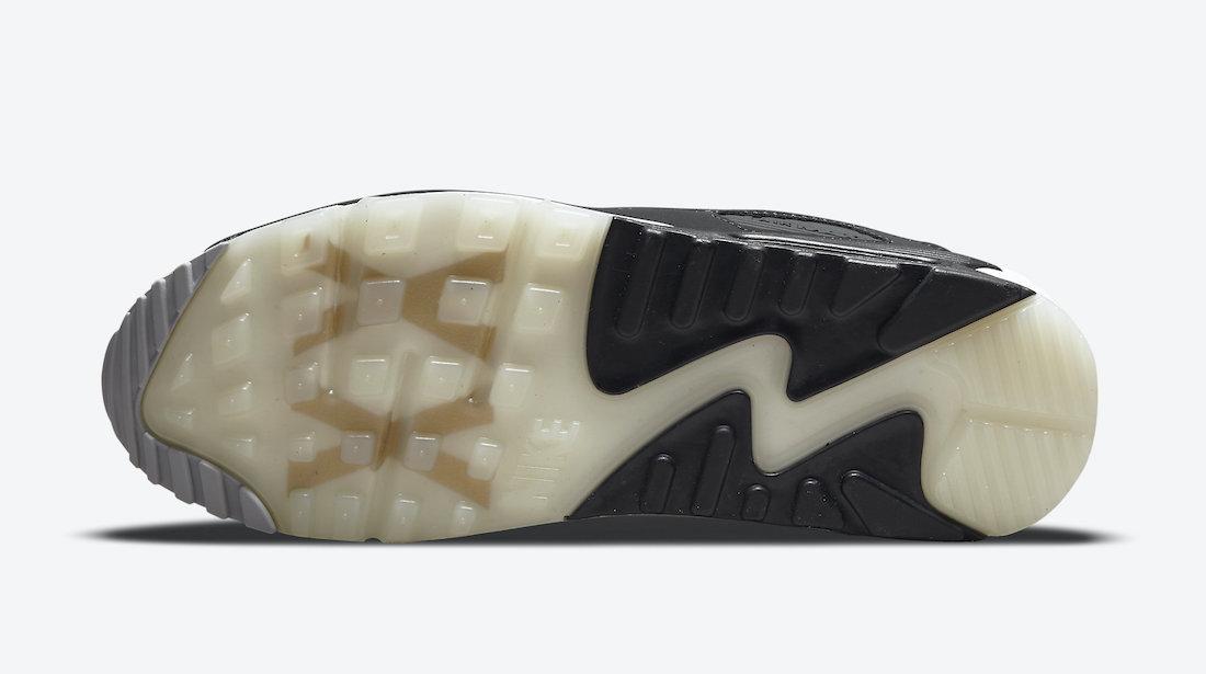 Nike Air Max 90 AIK Fotboll Black Gold DJ4602-001 Release Date Info