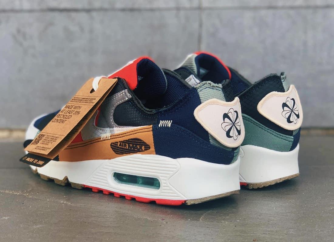 Nike Air Max 90 Scrap College Navy DJ4878-400 Release Date Info