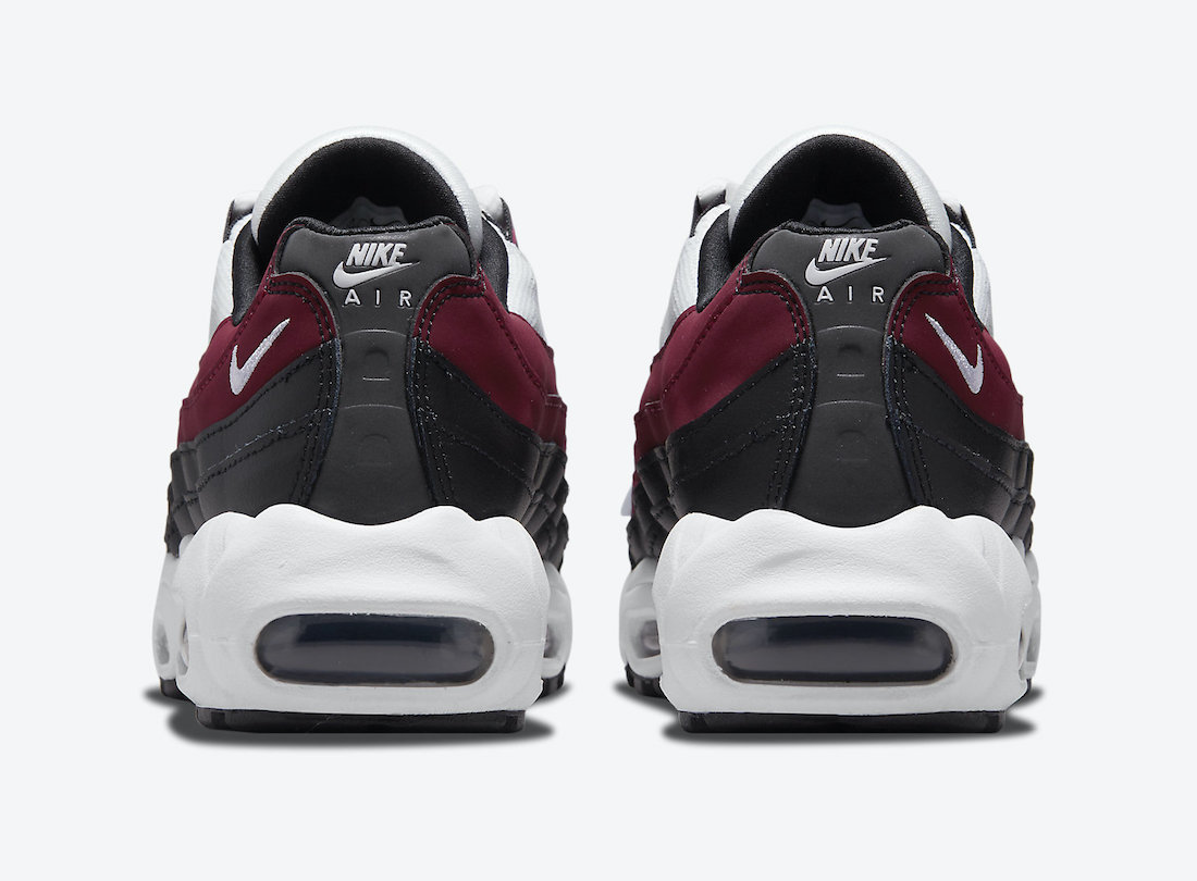 Nike Air Max 95 GS Bordeaux CJ3906-104 Release Date Info