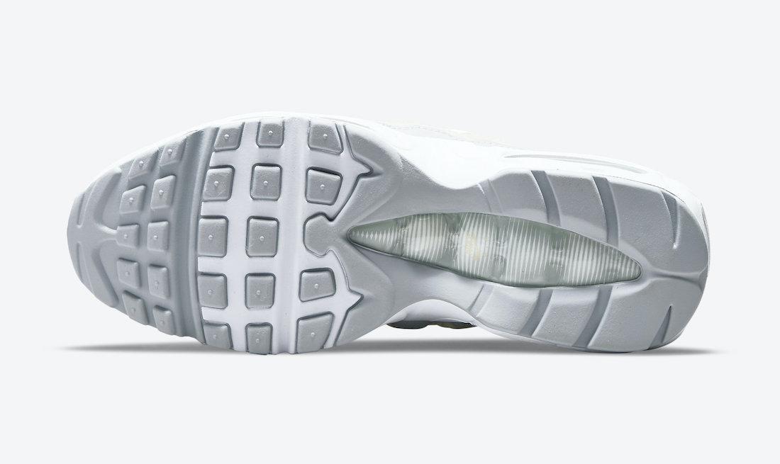 Nike Air Max 95 White Beige Silver DA8731-100 Release Date Info