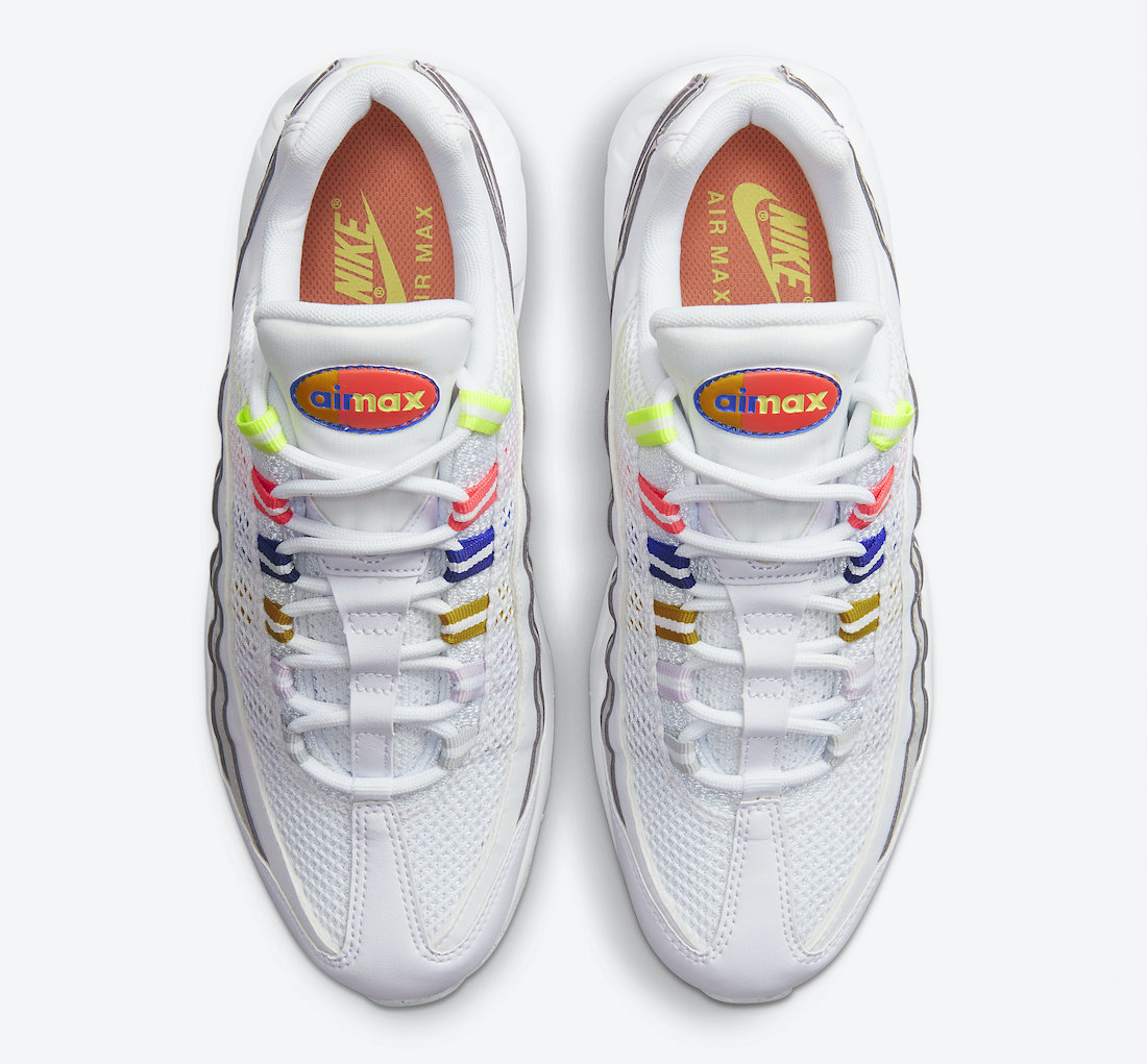 Nike Air Max 95 White Multi DH5722-100 Release Date Info