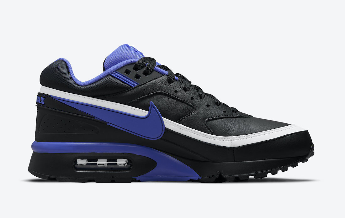 Nike Air Max BW Black Persian Violet White DM3047-001 Release Date Info
