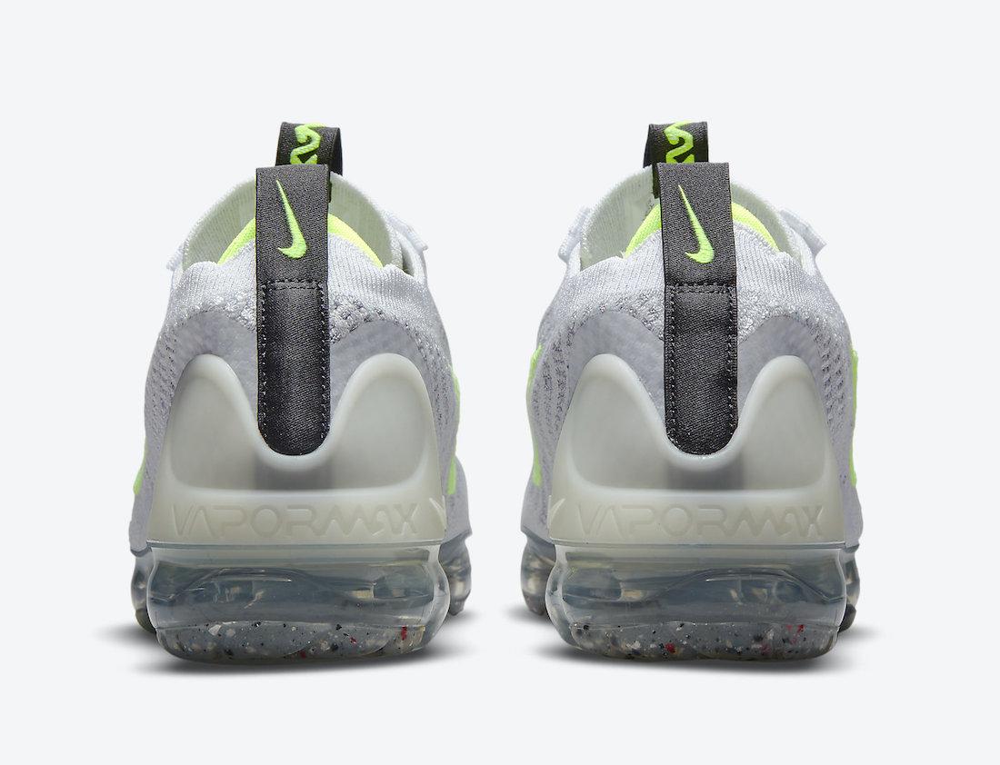 Nike Air VaporMax 2021 Grey Volt DB1550-005 Release Date Info