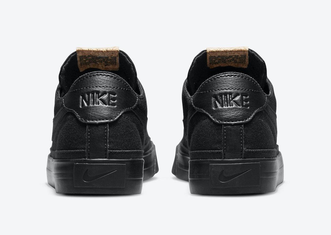 Nike Court Legacy Canvas Black DJ1972-001 Release Date Info