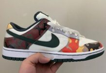 Nike Dunk Low Camo DH0957-100
