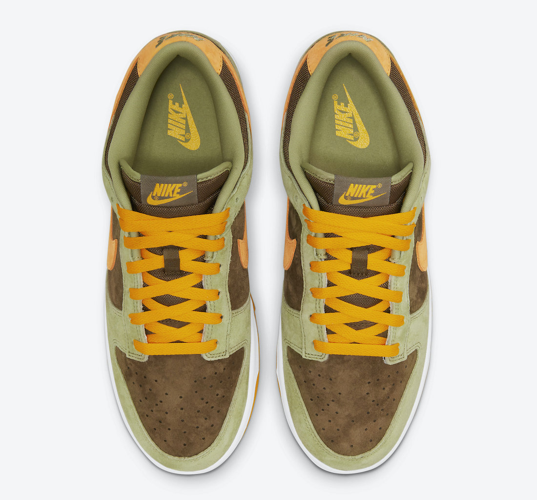 Nike Dunk Low Dusty Olive Pro Gold DH5360-300 Release Info Price