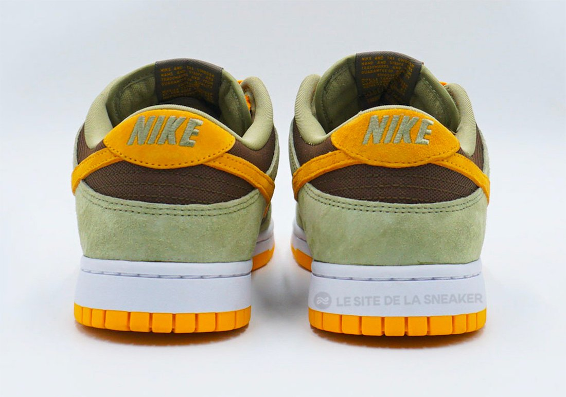 Nike Dunk Low Dusty Olive Pro Gold DH5360-300 Release Date Info