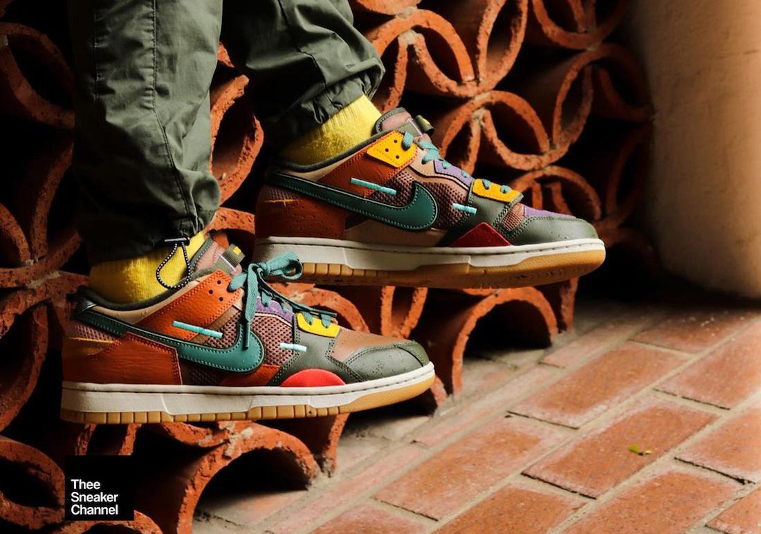 Nike Dunk Low Scrap Archeo Brown DB0500-200 On-Feet
