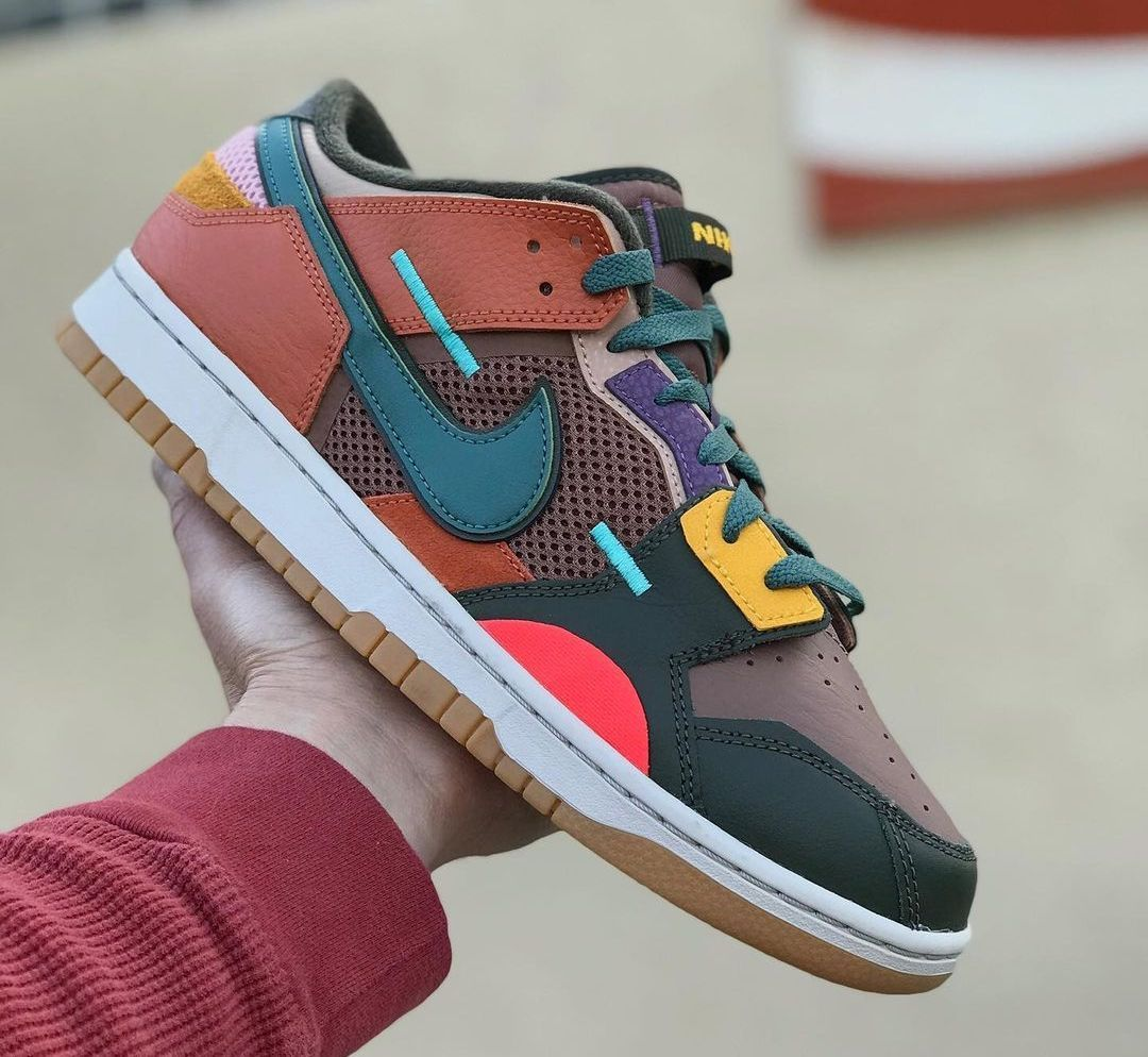 Nike Dunk Low Scrap Archeo Brown DB0500-200 Release Details
