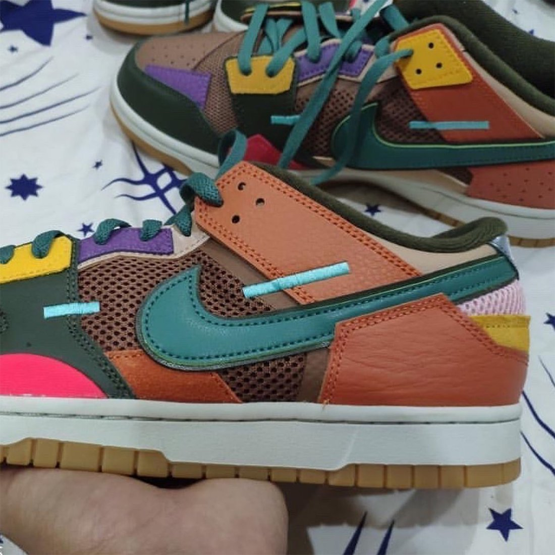 Nike Dunk Low Scrap Archeo Brown DB0500-200 Release Date Info