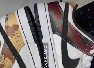 Nike Dunk Low SE Camo DH0957-100 Leak