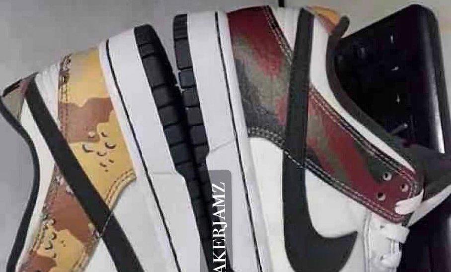 Nike Dunk Low SE Camo DH0957-100 Leak keywords