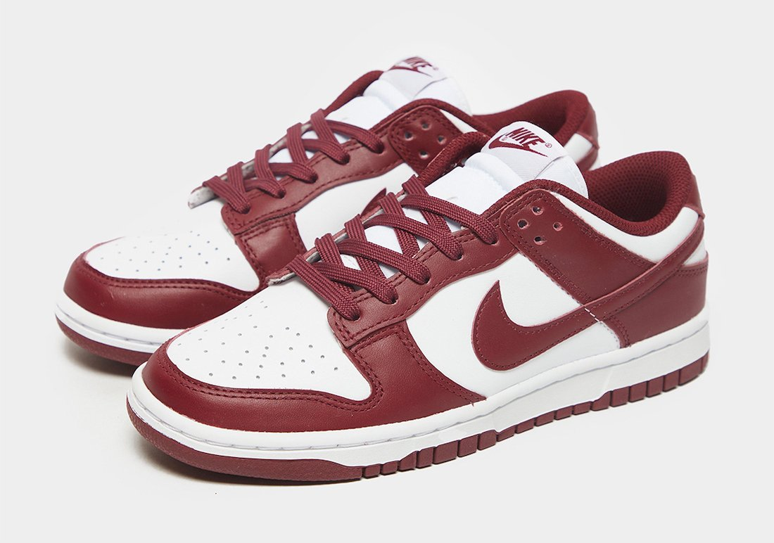 Nike Dunk Low Team Red Release Date Info