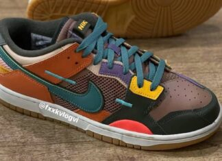 Nike Dunk Scrap Archeo Brown DB0500-200 2021