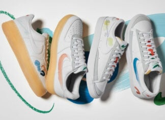 Nike Flyleather Collection Summer 2021 Air Force 1 Blazer Low Release Date Info