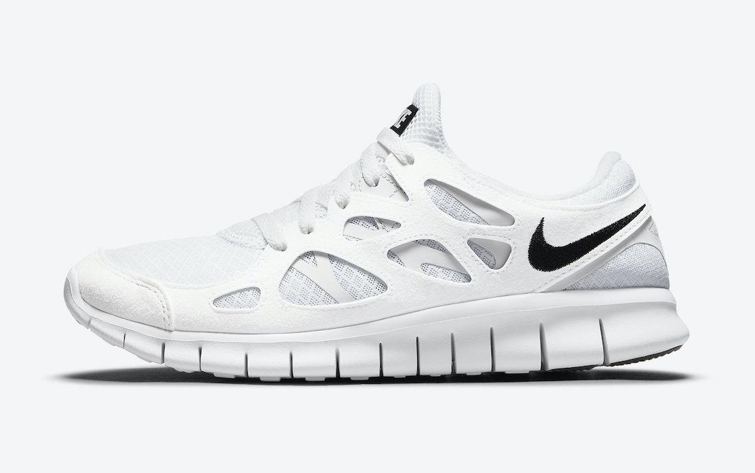 Nike Free Run White Black DH8853-100 Release Date Info