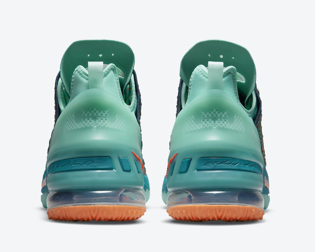 Nike LeBron 18 We Are Family CQ9283-300 Release Date Info