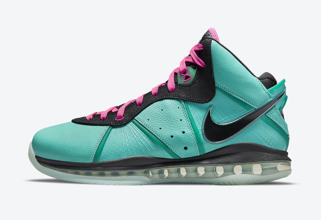 Nike LeBron 8 South Beach CZ0328-400 Release Info Price