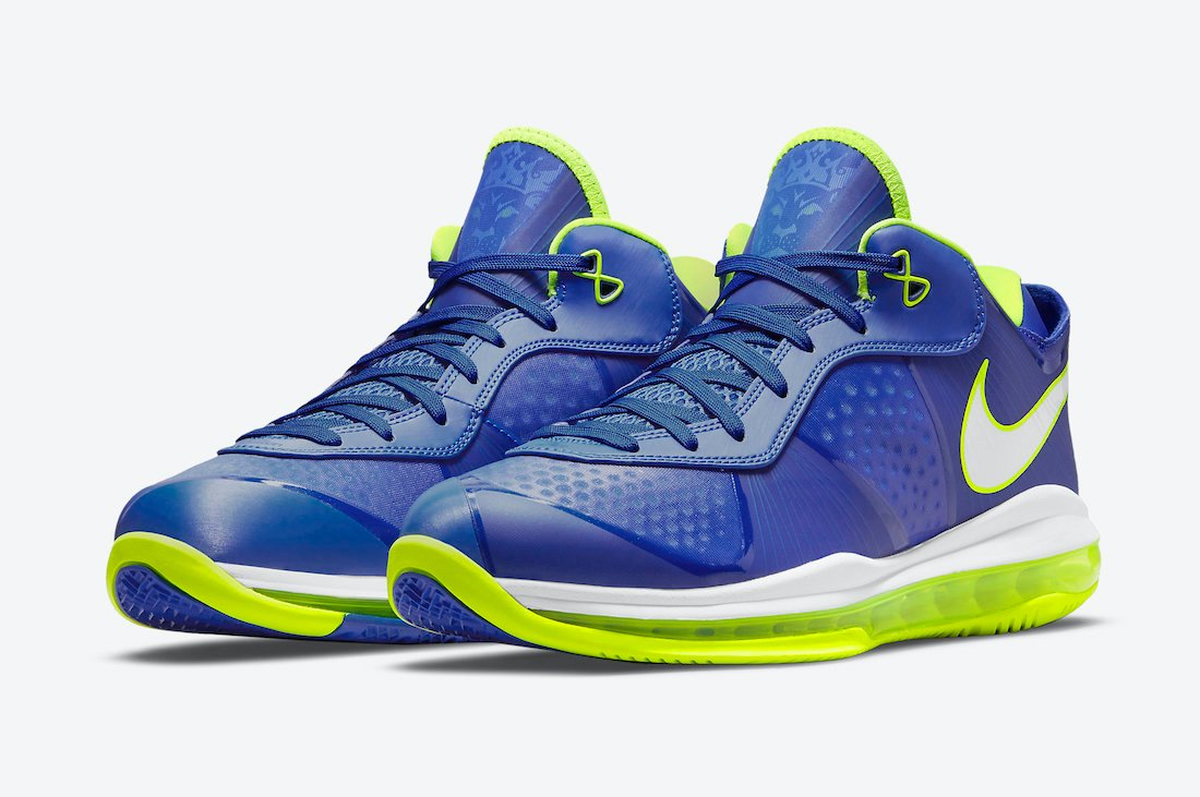 Nike LeBron 8 V2 Low Sprite 2021 DN1581-400 Release Date