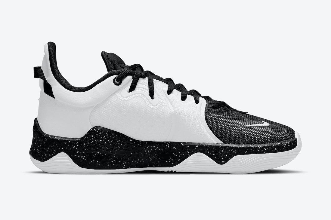 Nike PG 5 Black White CW3143-003 Release Date Info