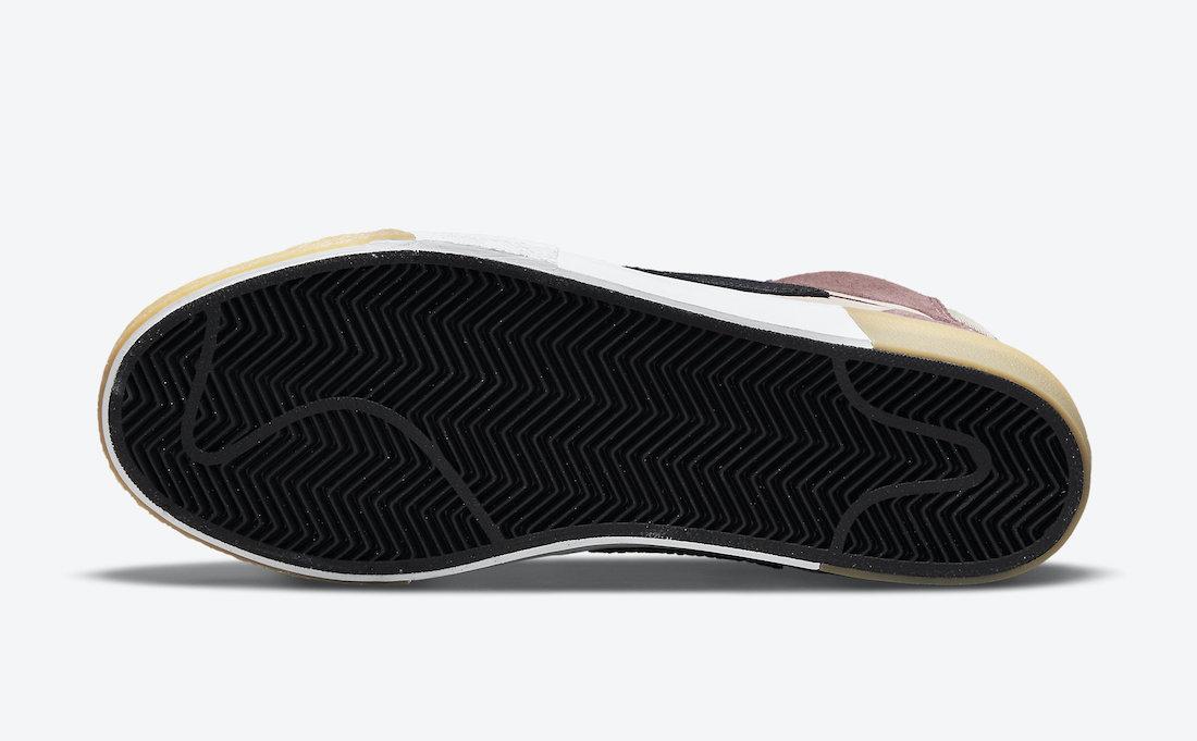 Nike SB Blazer Mid Mosaic Dark Wine DA8854-600 Release Date Info