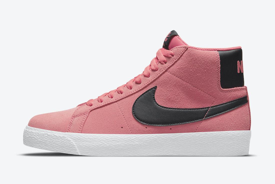 Nike SB Blazer Mid Pink 864349-601 Release Date Info