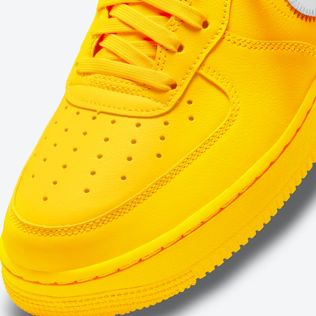 Off-White Nike Air Force 1 Low University Gold DD1876-700 Release Date Price
