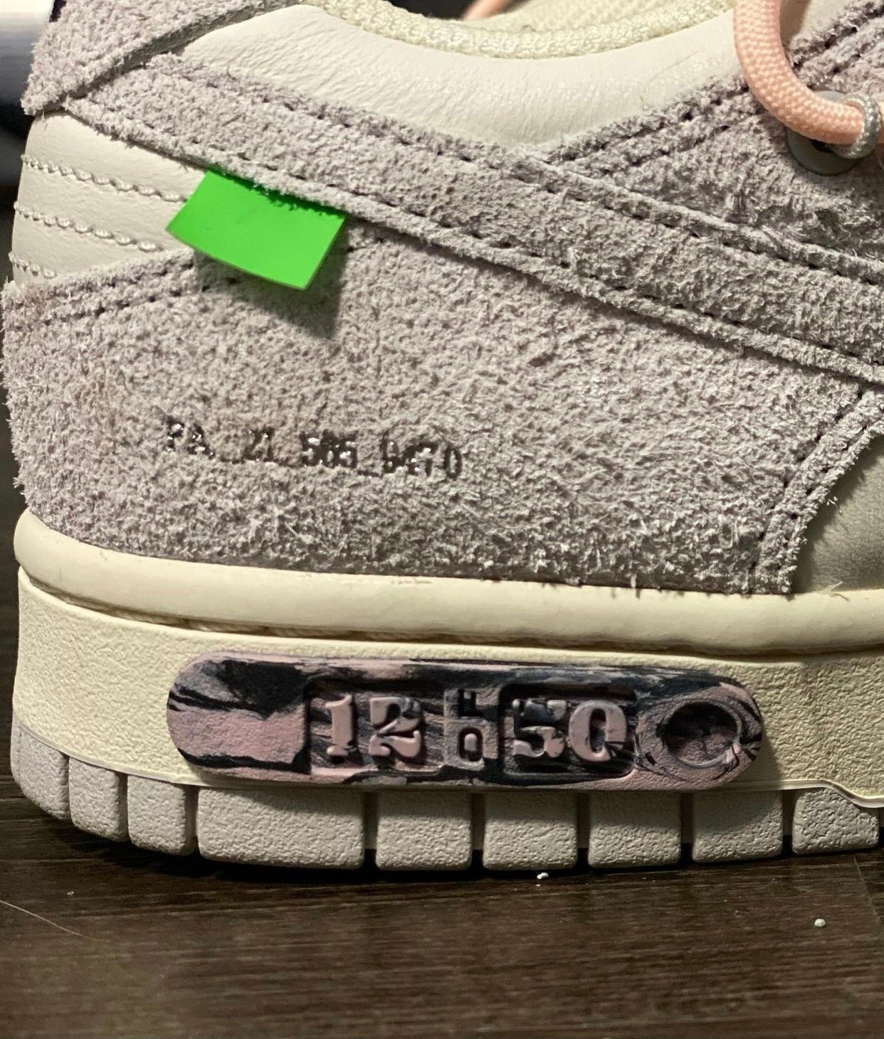 Off-White Nike Dunk Low 12 of 50 Release Date