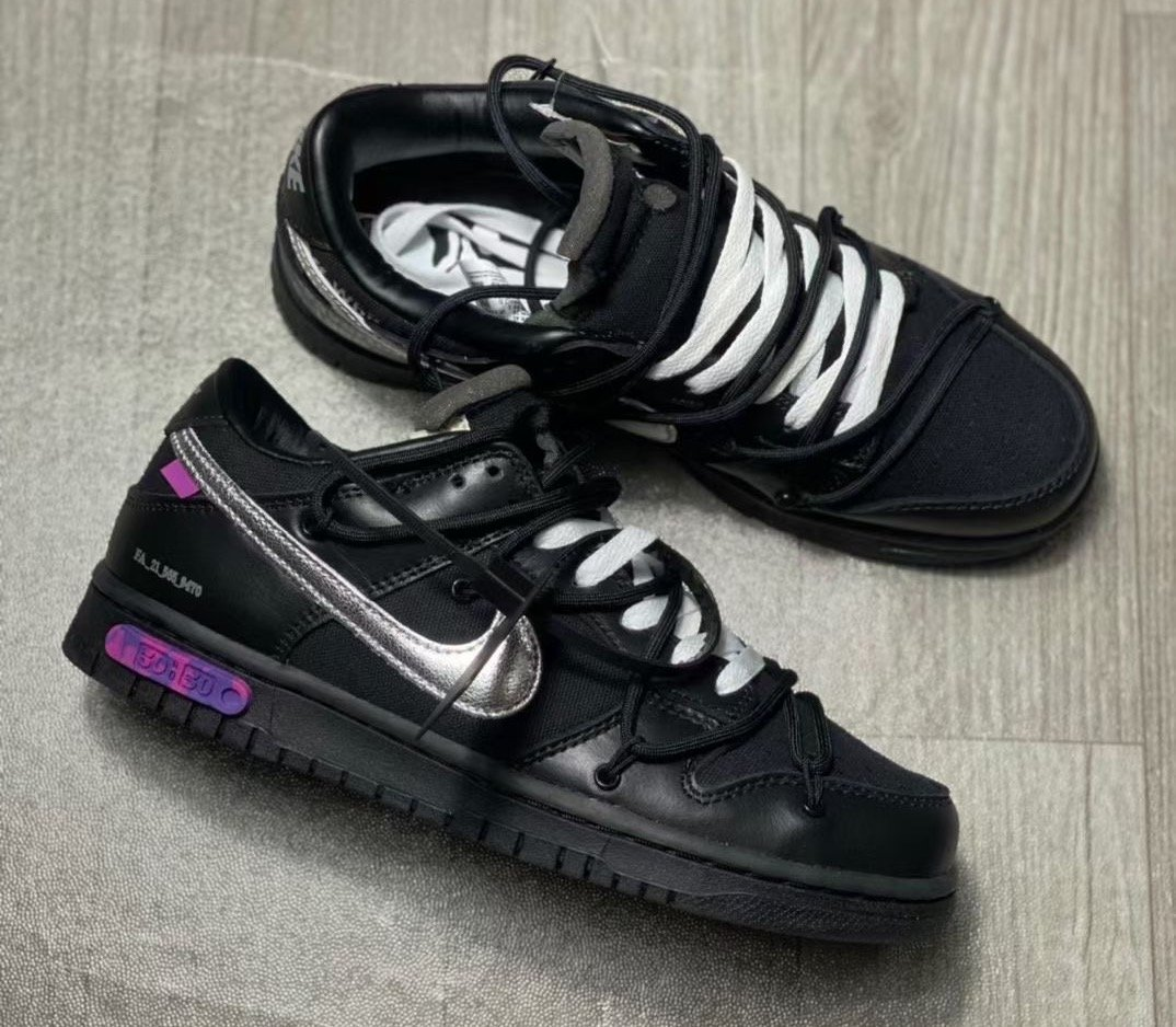 Off-White Nike Dunk Low 50 of 50 Black Release Date Price