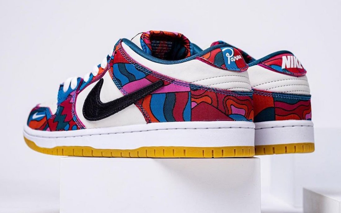 Parra Nike SB Dunk Low DH7695-600 Release Date