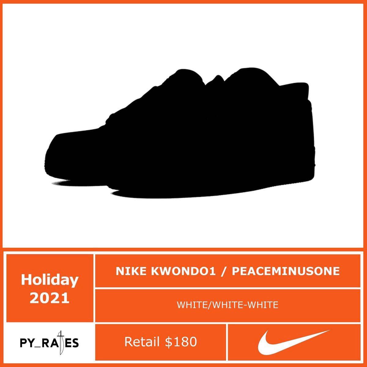 Peaceminusone Nike Kwondo 1 Release Date Info