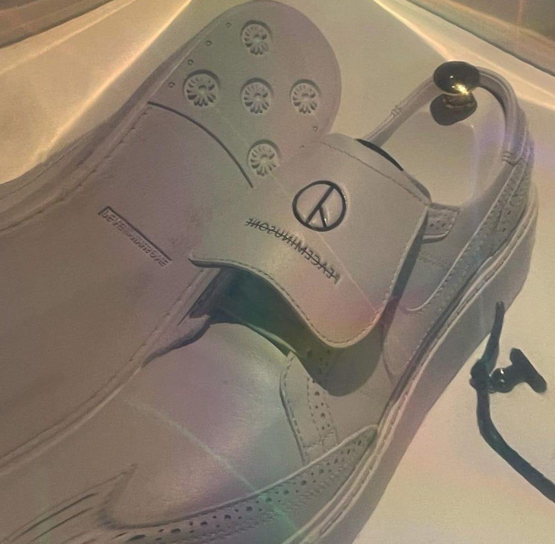 Peaceminusone Nike Kwondo 1 White Release Date