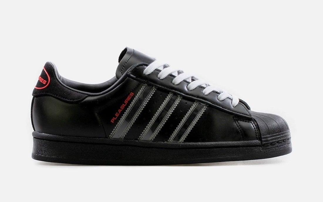 PLEASURES adidas Superstar GY5691 Release Date Info